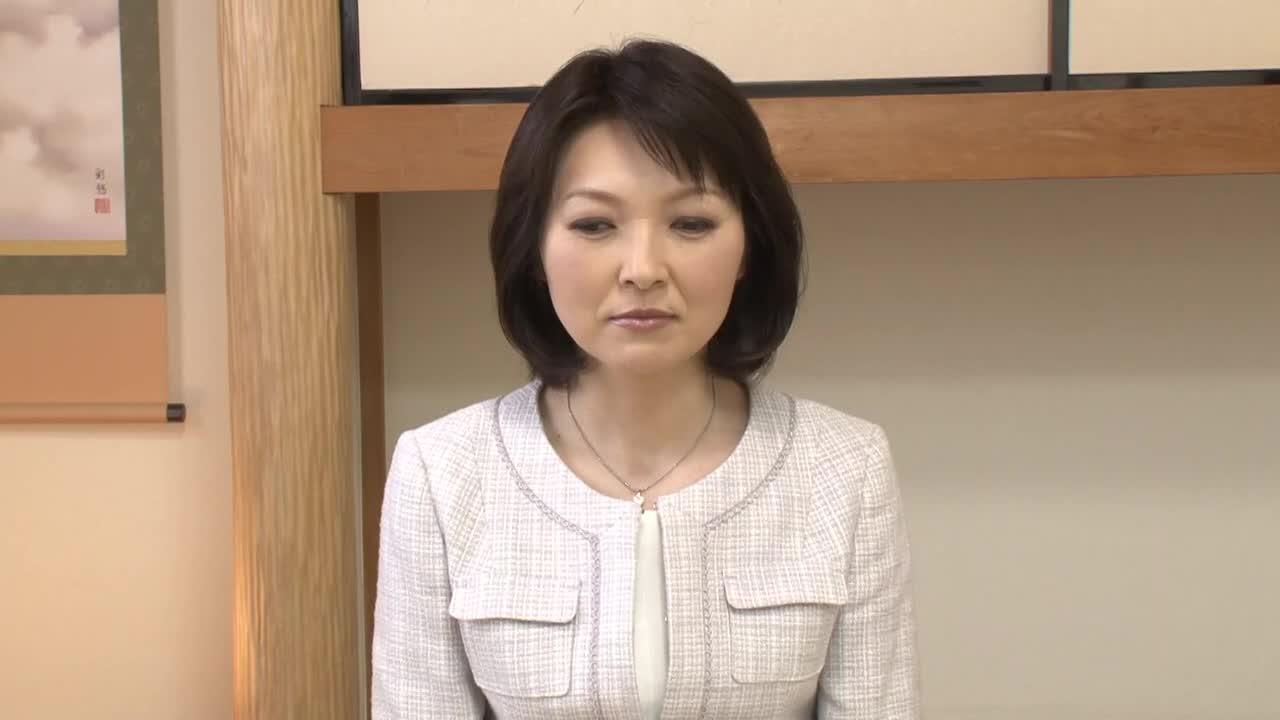 【来生絢子45歳】素人の熟女が寝取られ企画で初脱...